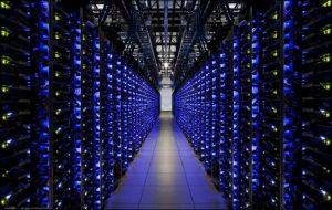 'Eén van de datacenters van Google in Nederland' - Foto: Google